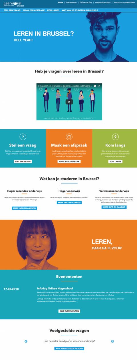 Leerwinkel Brussel Project